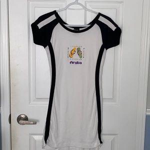 short sleeve tennis t-shirt dress